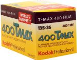 Kodak T-Max 400 iso 36 exposure Black & White Camera Film